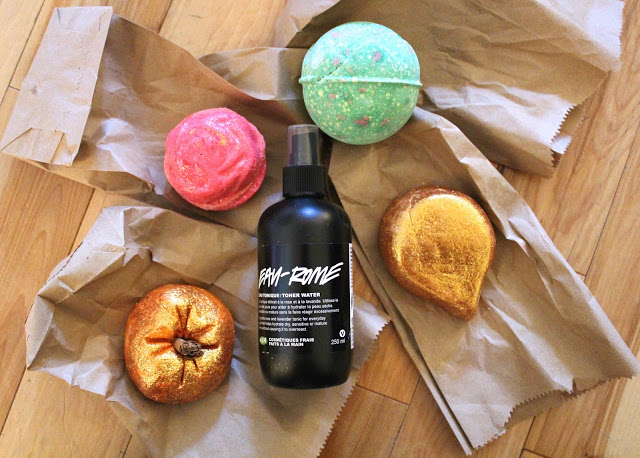 A little Lush haul