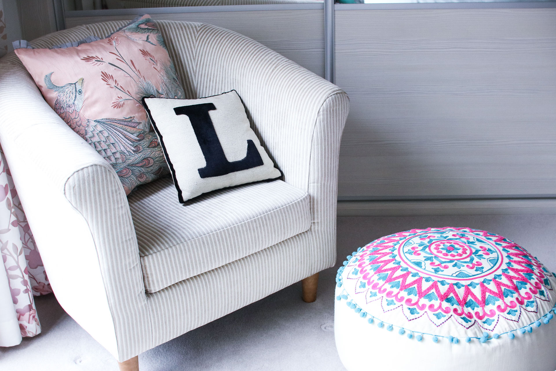 pretty girly bedroom decor interiors pink pastel