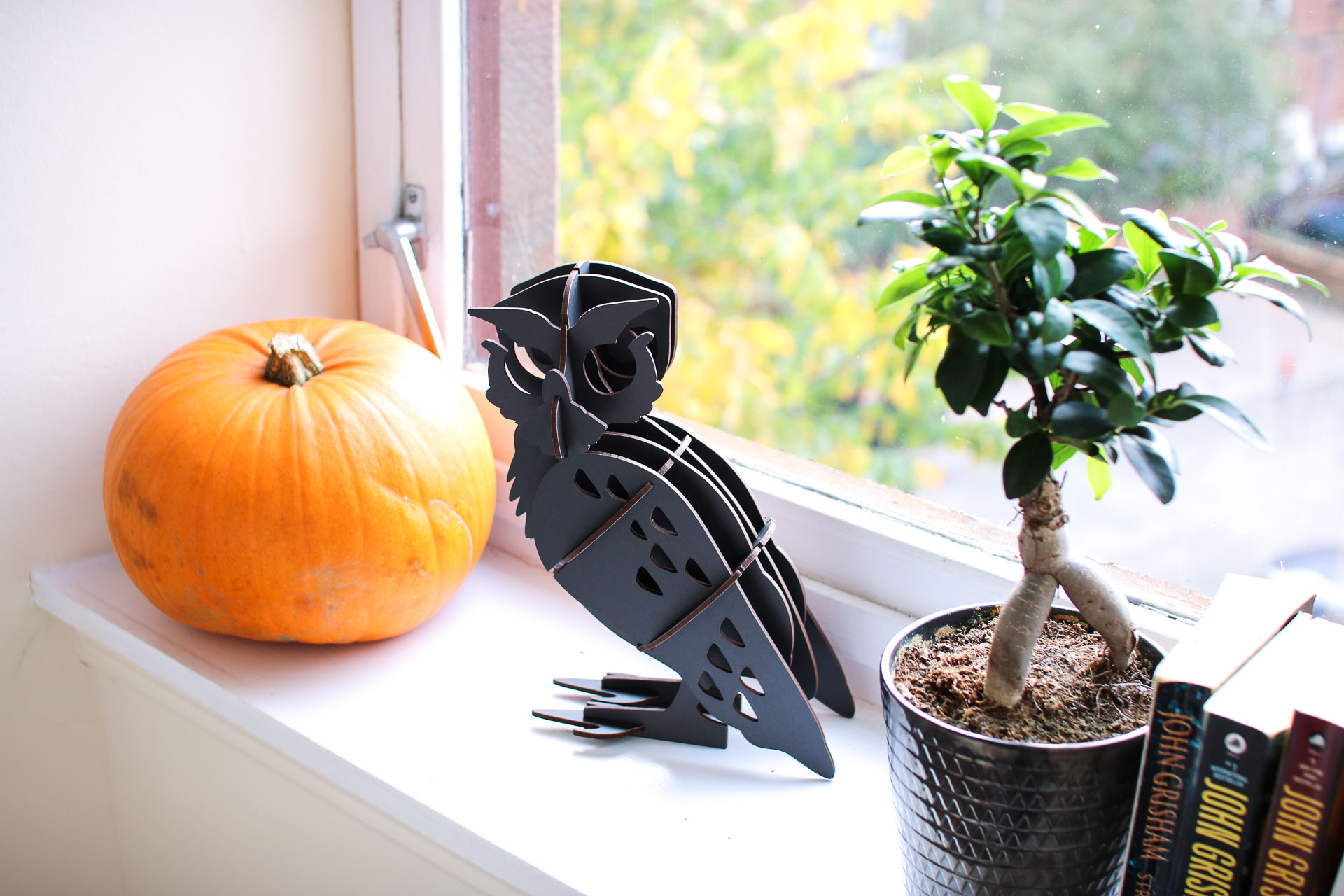 autumn fall halloween decor