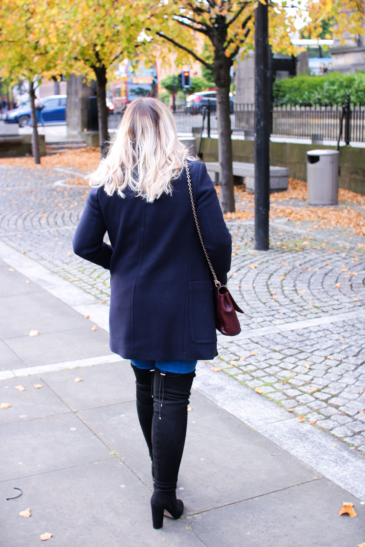 autumn style over the knee boots fall
