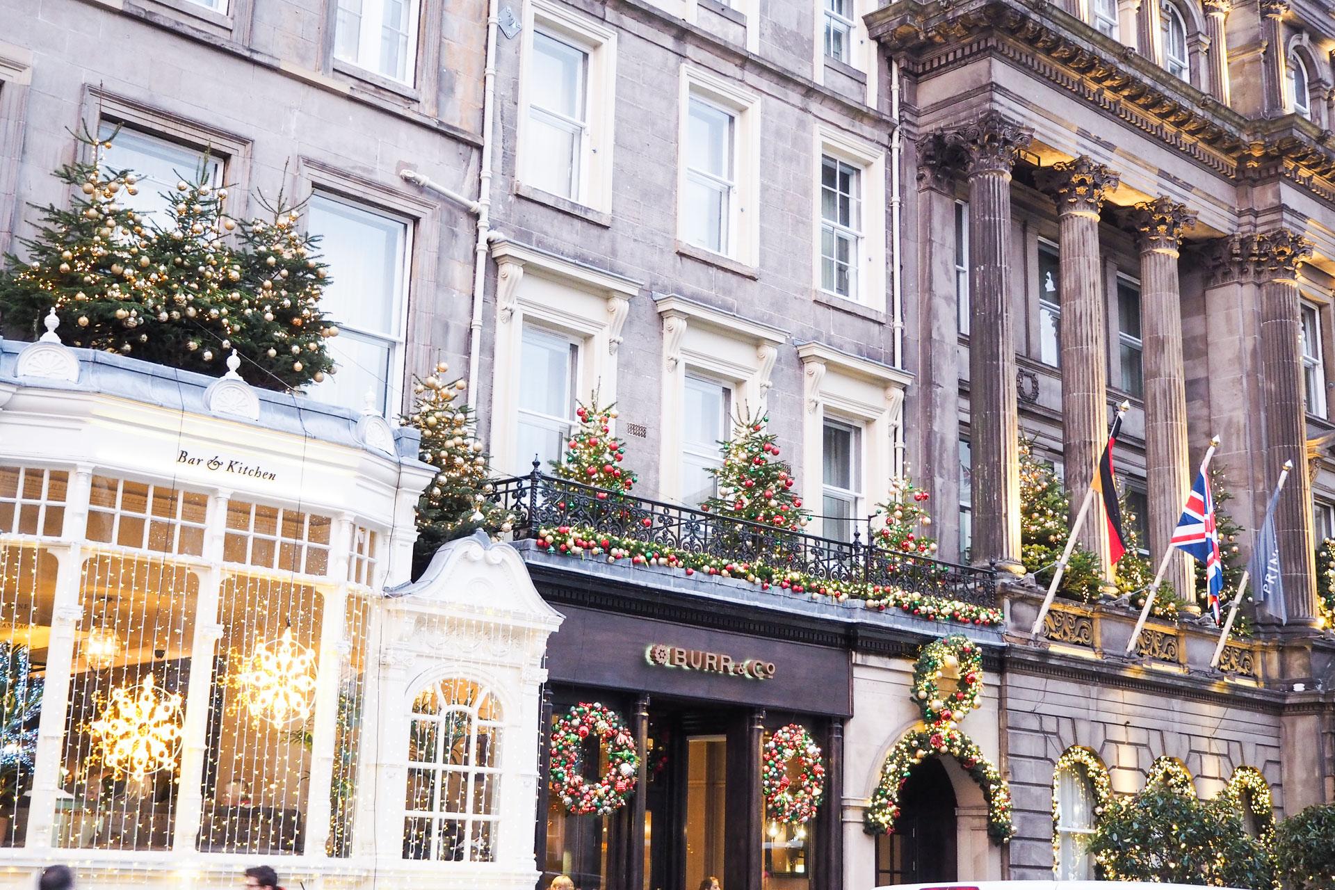 edinburgh christmas george street