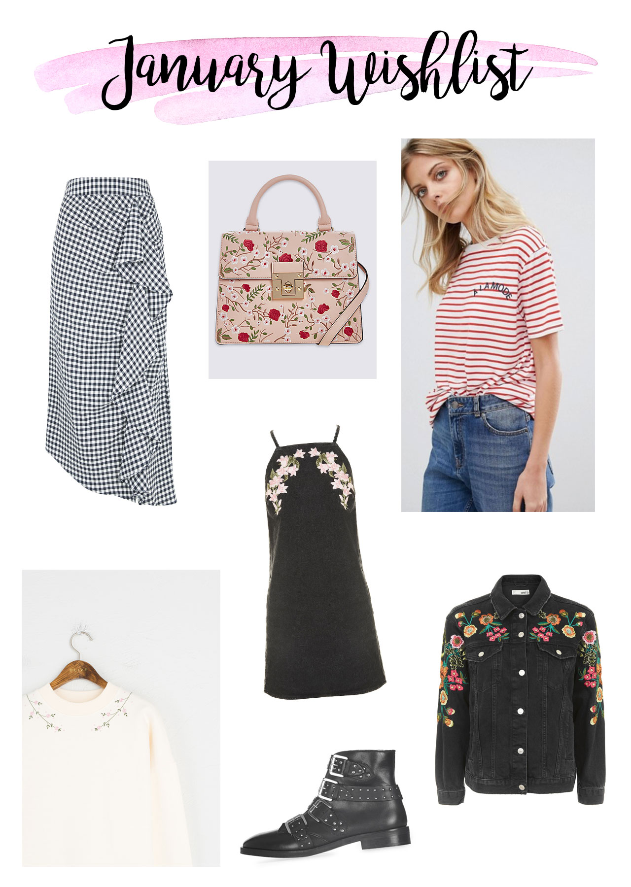 january wishlist, fashion, style, shopping