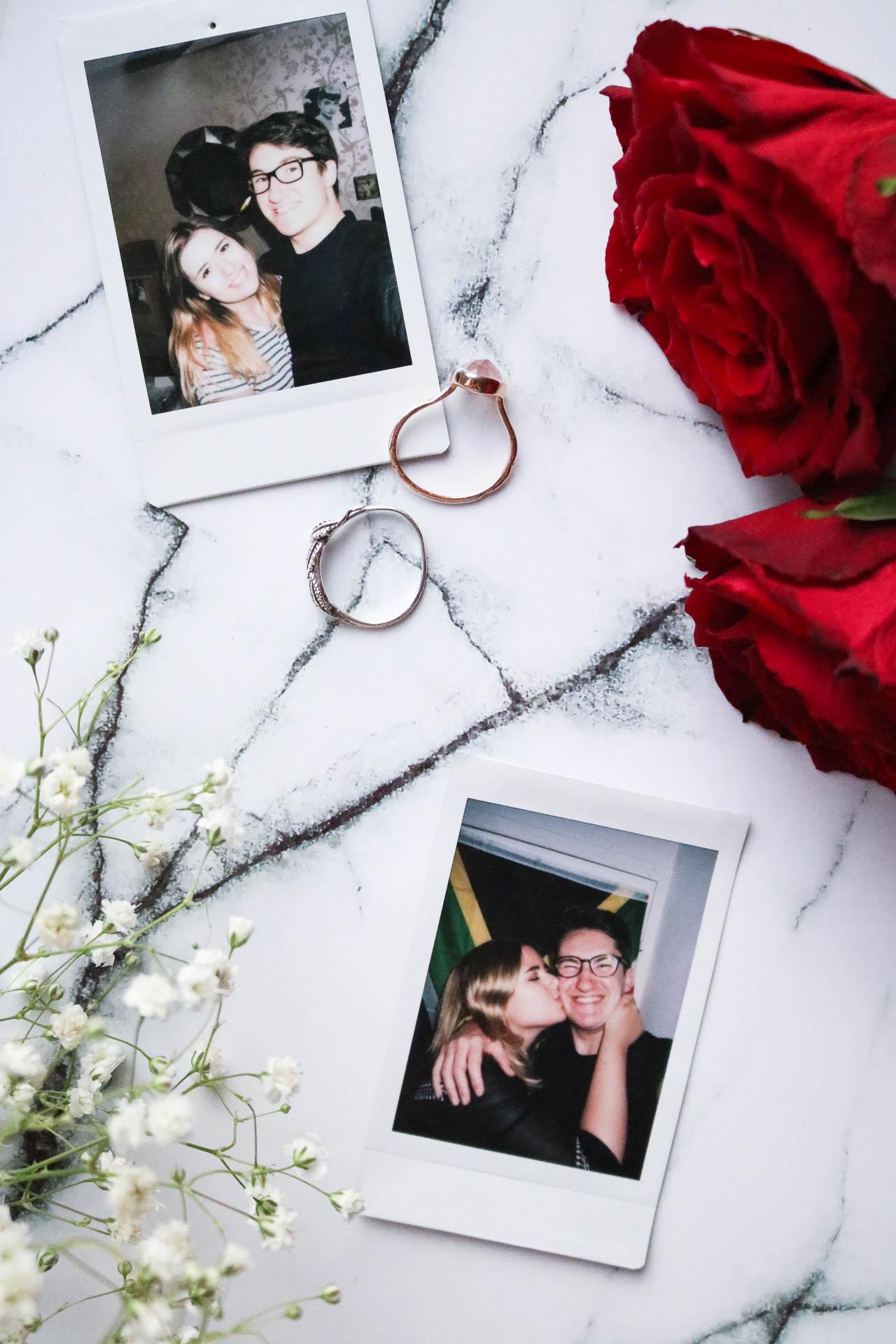 how we met - valentines day