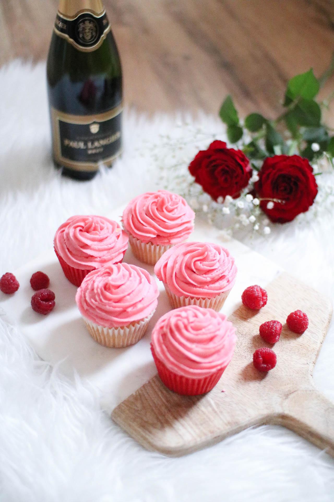 prosecco and raspberry cupcakes recipe