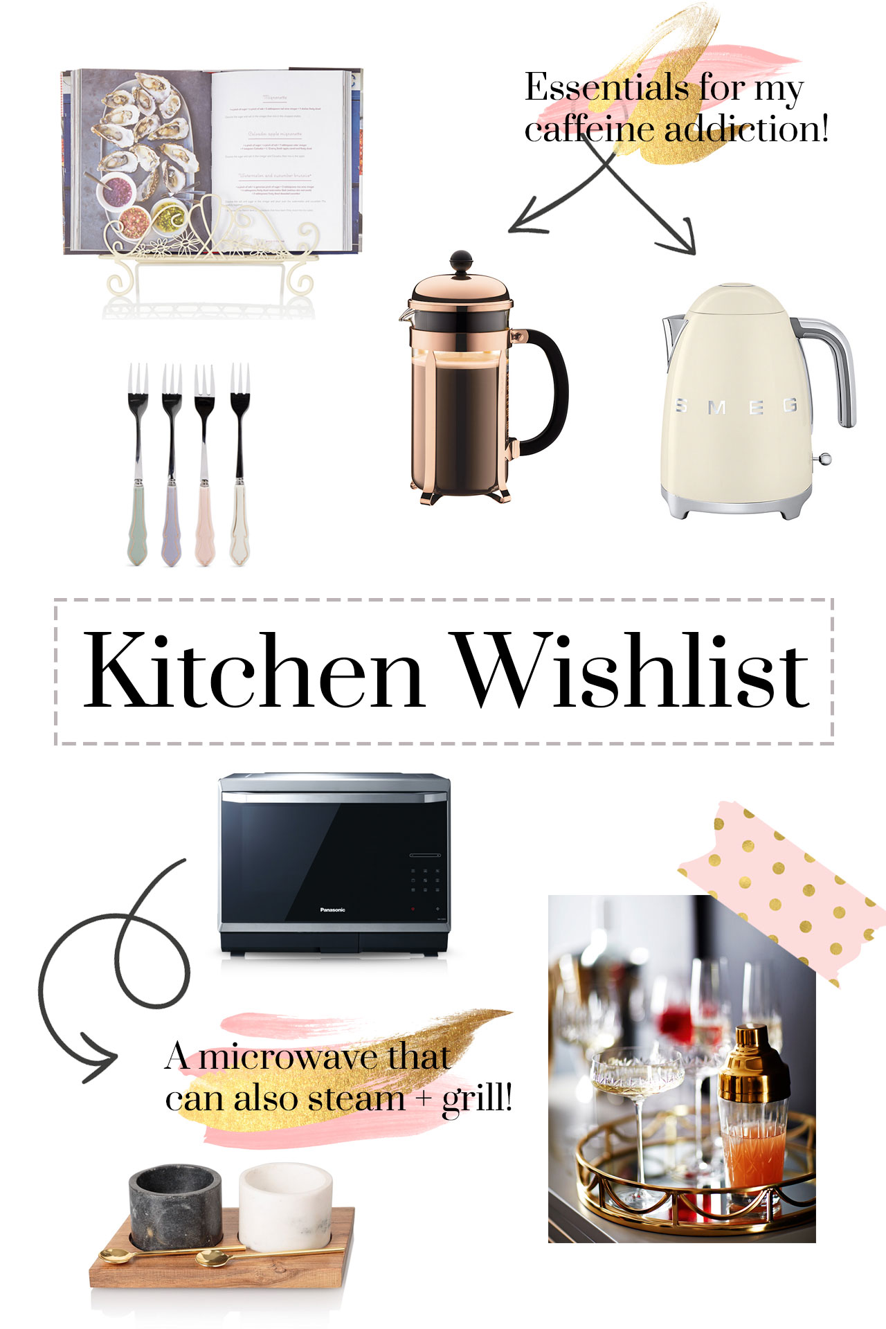 Kitchen wish list - kitchen appliances and homeware that I am lusting after!