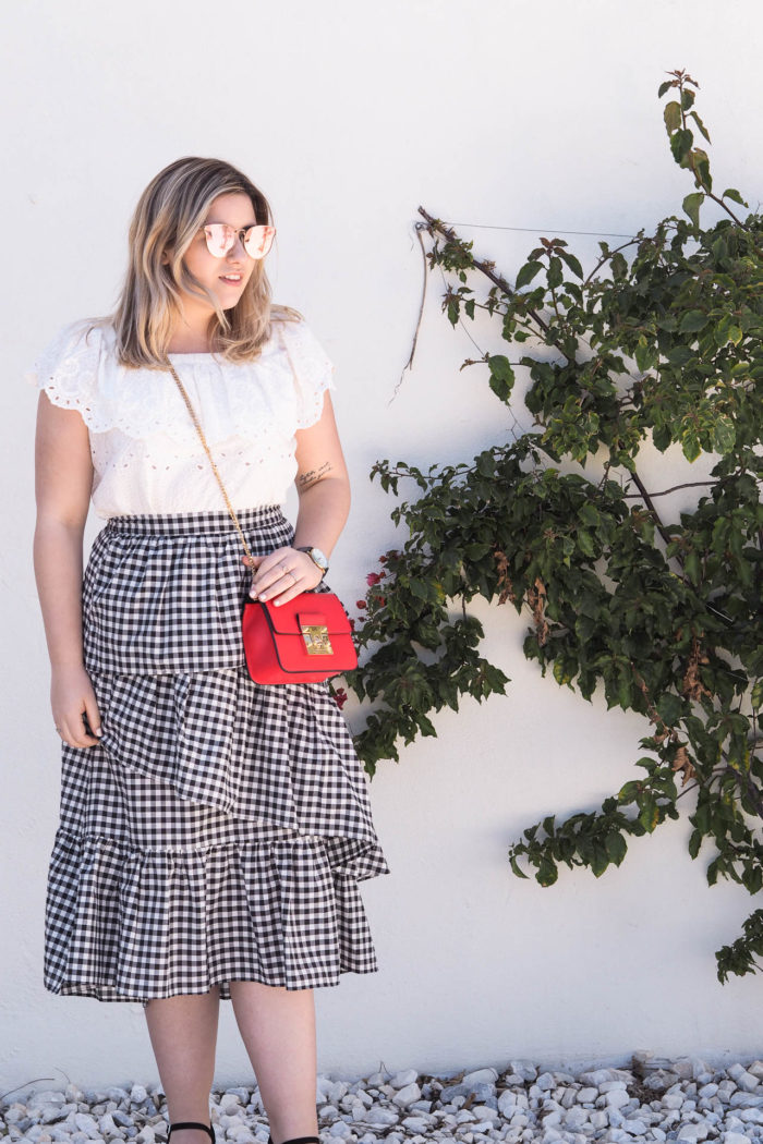 The Perfect Gingham Skirt