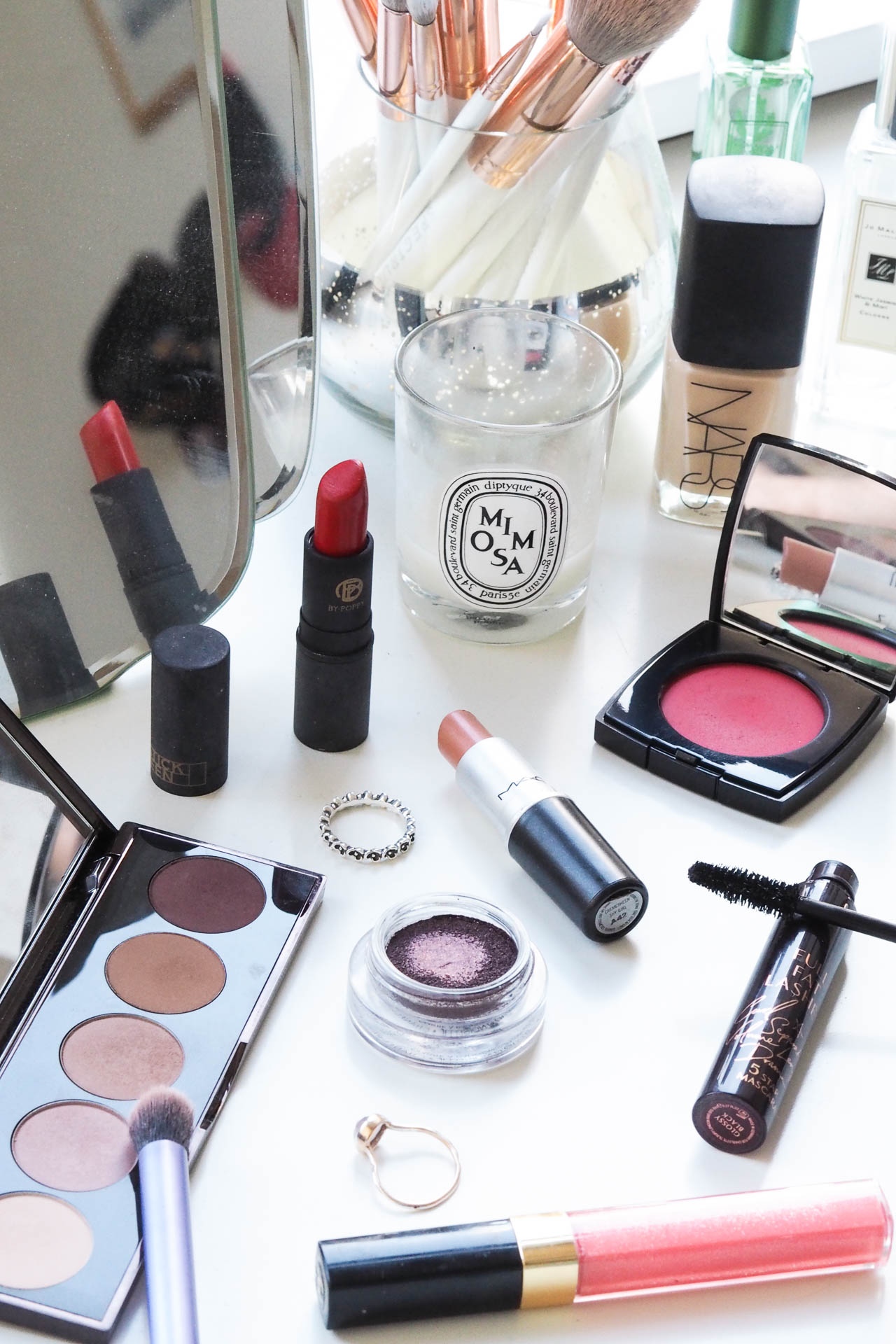spring cleaning makeup collection