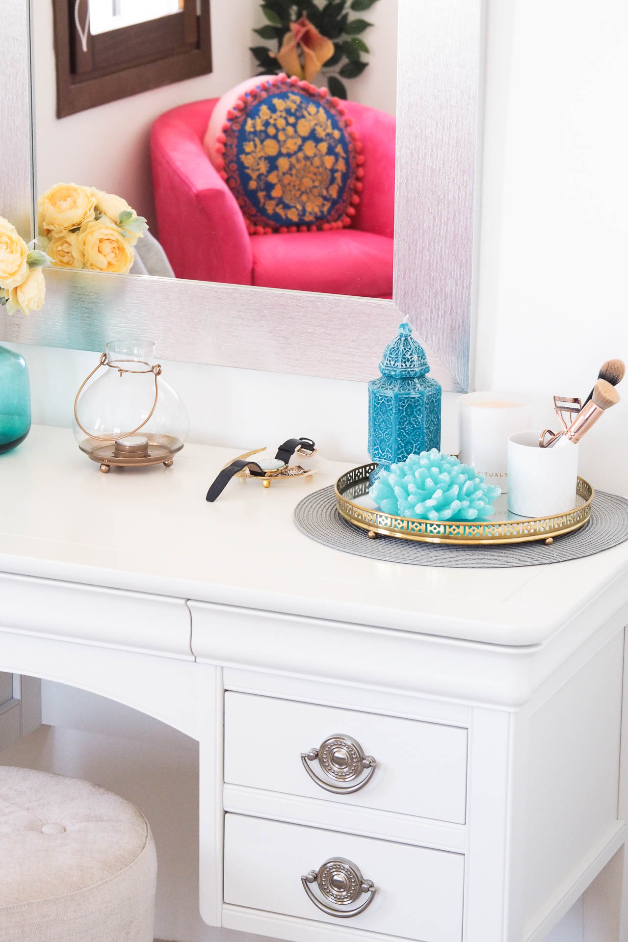 spanish bedroom dressing table