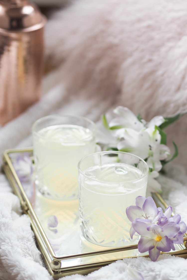 elderflower gin fizz cocktail recipe, summer cocktail,