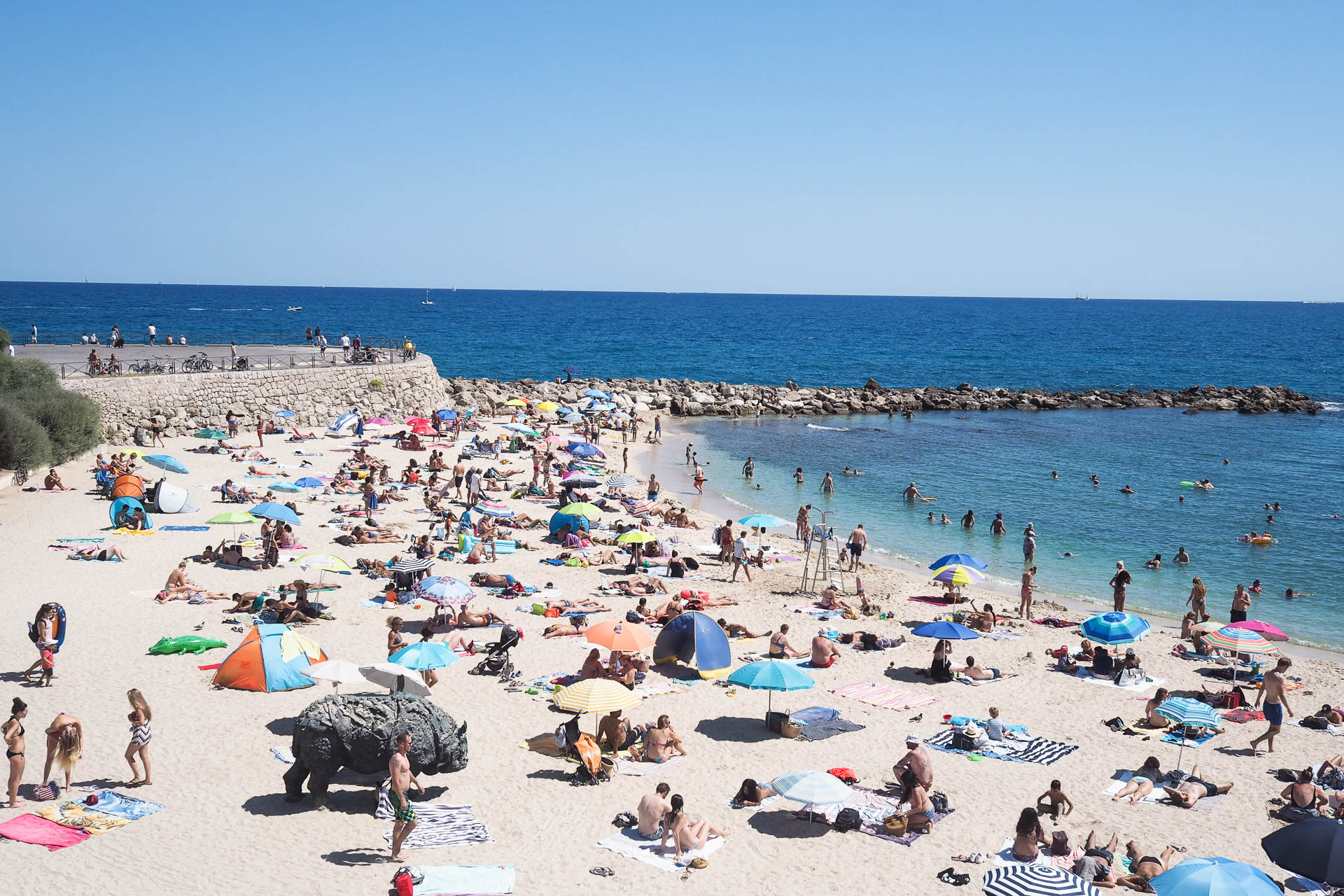 antibes, french riviera, beach