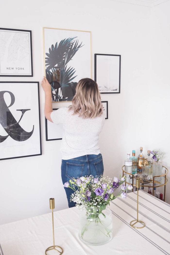 How to Plan a Gallery Wall.