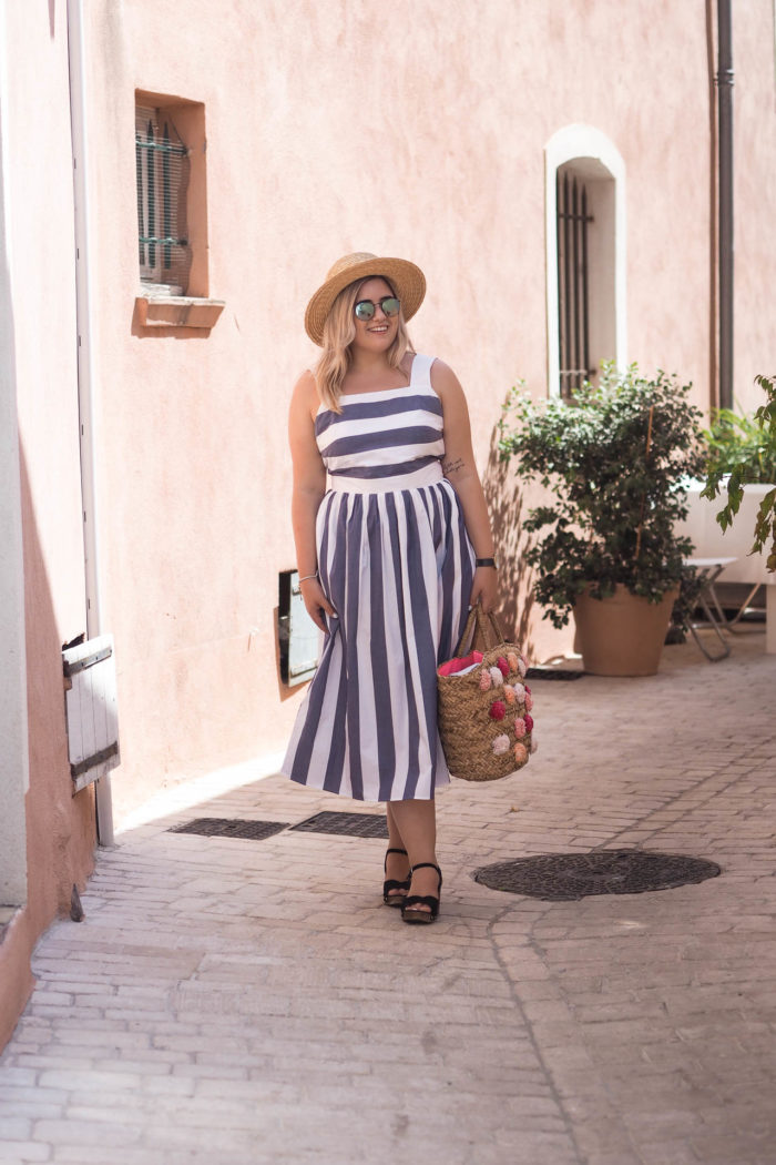 Finding my identity as a 'in-between' sized fashion blogger.