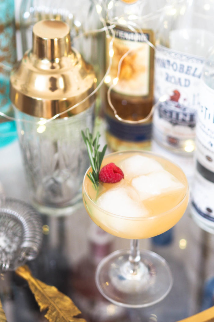 Festive Tipple: Tequila and Amaretto Sour