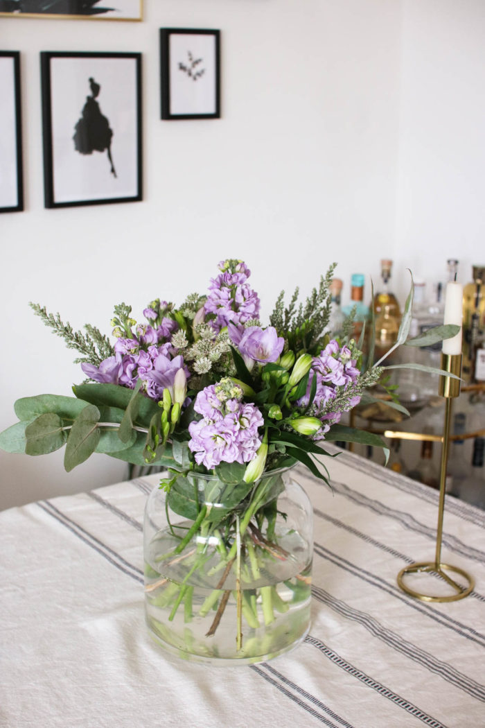 Tips for arranging & keeping fresh flowers