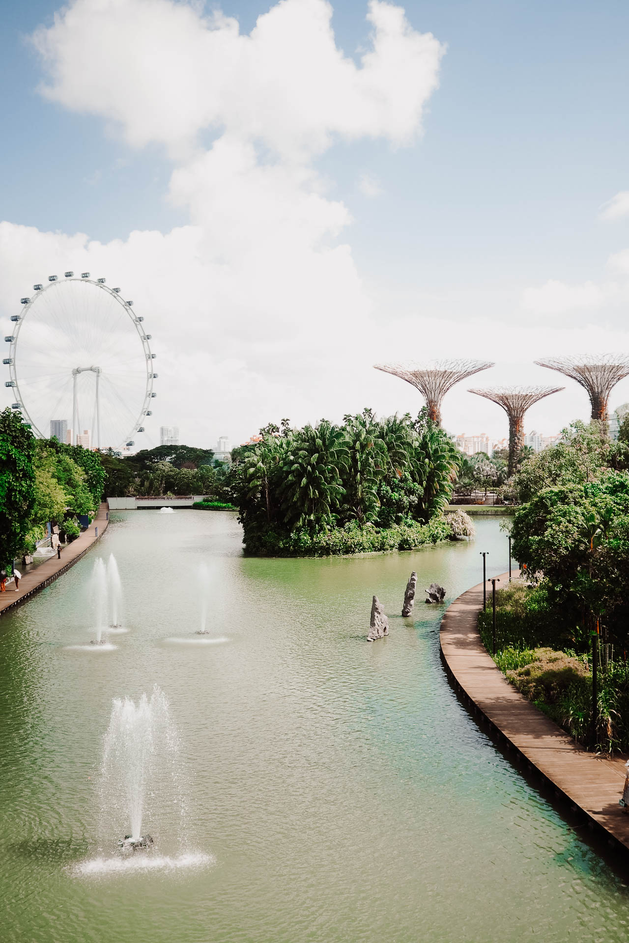 Singapore travel diary - gardens by the bay